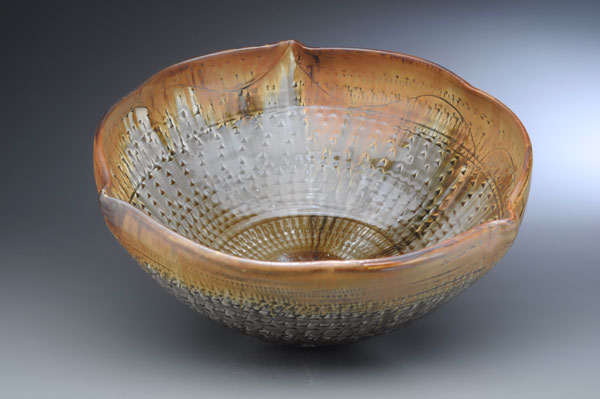 Chattered Fluted Bowl
