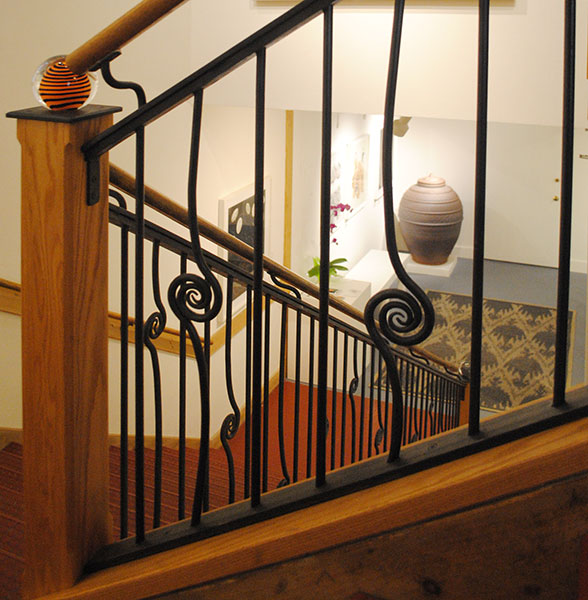Mitchell Giddings Gallery Railing