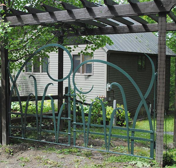 Saxton's River Garden Gate